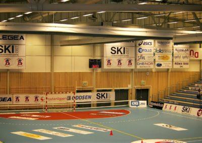 Stadionreklame - vantdekor- gulvdekor - bannere - skilt